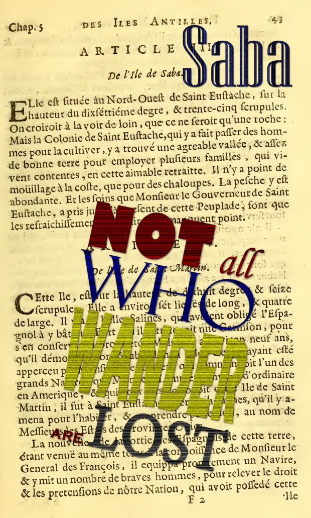Saba - Not all who wander are lost copy