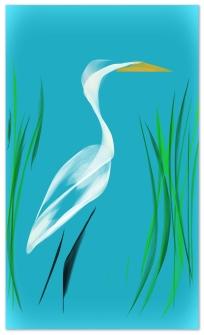Egret (c) Johan Schaeffer